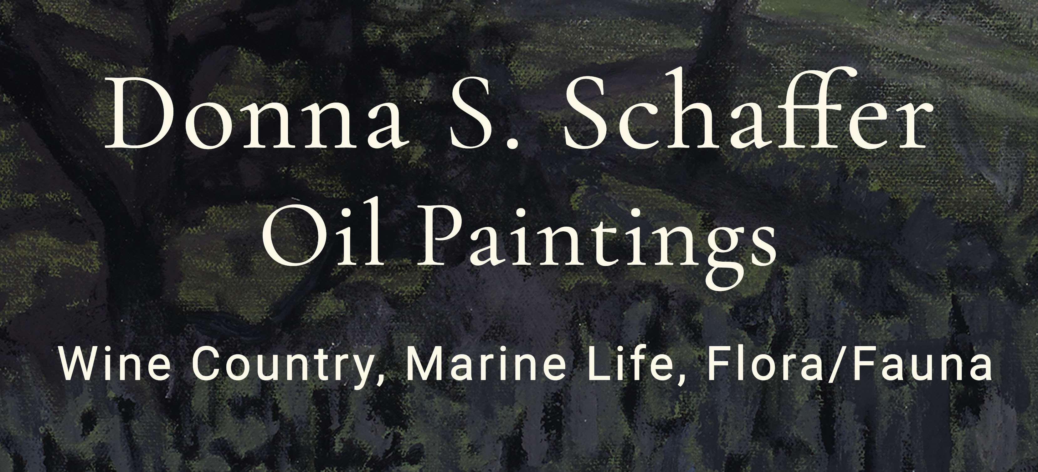 Donna Schaffer Original Oil Paintings Logo